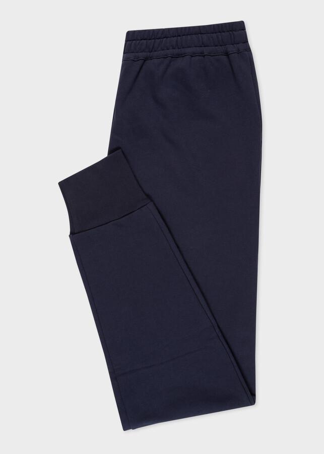Thumbnail for your product : Paul Smith Women's Navy Zebra Logo Organic-Cotton Sweatpants