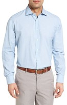 Luciano Barbera Men's Chambray Sport Shirt