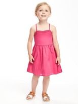 Old Navy Lace-Yoke Cami Dress for Toddler