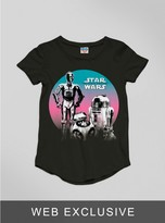Junk Food Clothing Toddler Girls The Force Awakens 3po R2d2 Tee