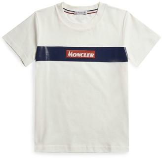 Moncler Kids Logo Patch T-Shirt (8-10 Years)