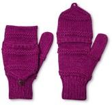 Laundromat Women's Hand Knit Wool Blend Fliptop Mitten