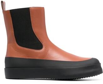 Neous Zaniah colour-block ankle boots