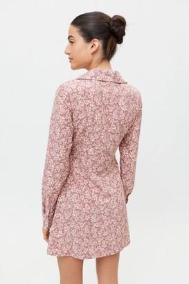 Glamorous Care Long Sleeve Shirt Dress