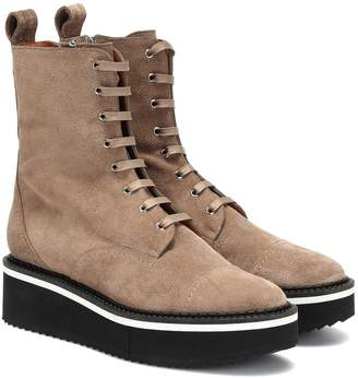 Clergerie Brighton suede ankle boots
