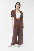 Urban Outfitters Colette Pleated Wide Leg Pant