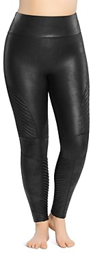 Spanx Plus Moto Faux-Leather Leggings