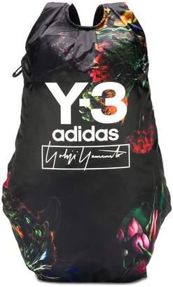Y-3 floral print backpack
