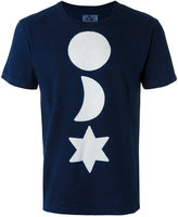 Blue Blue Japan printed T-shirt - men - Cotton - XS