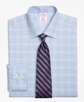 Brooks Brothers Madison Classic-Fit Dress Shirt, Non-Iron Two-Tone Glen Plaid