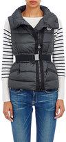 Moncler Women's Labas Belted Vest-DARK GREEN