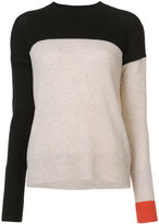 Rosetta Getty colour block top - women - Cashmere/Wool - M