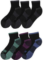Dickies Womens 6-pk. Dri-Tech Comfort Quarter Socks