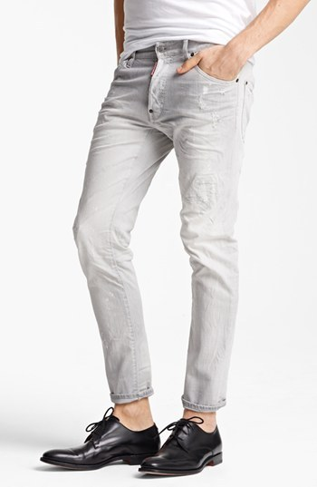 DSquared Dsquared2 'Cool Guy' Skinny Fit Jeans (Grey)