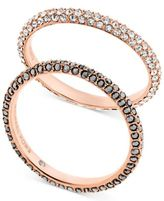 Michael Kors Pavé Stacking Rings