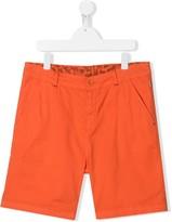 Paul Smith TEEN zebra lined chino shorts