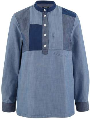 A.P.C. Isaure Denim Patch shirt