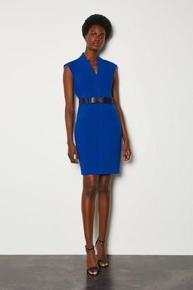 Karen Millen Forever Cap Sleeve Short Dress