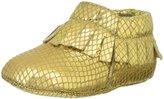 Old Soles Fringe Boot (Inf/Tod) - Gold Snake - 17 EU/1.5 US