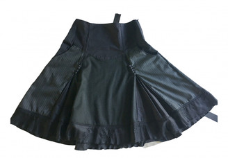 Jean Paul Gaultier Anthracite Viscose Skirts