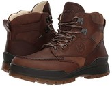 Ecco Track 25 Premium High (Cocoa Brown/Camel) Men's Lace-up Boots