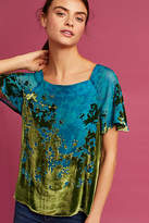 Anthropologie Ombre Shimmer Tee