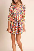 Umgee USA Multicolor Floral Dress