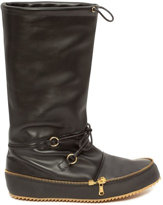 J.W.Anderson Moon calf-length boots