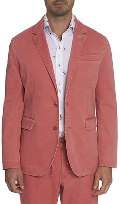 Robert Graham Rally Blazer (Coral) Men's Clothing
