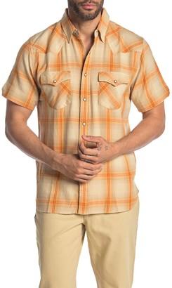 Frye Short Sleeve Western Regular Fit Shirt