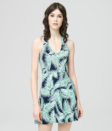 Prince & Fox Palm Fronds Halter Dress