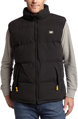 Caterpillar Men's Big-Tall Quilted Insulated Vest