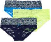 XOXO 3-pk. Lace Bikini Panties