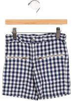 Stella McCartney Boys' Gingham Shorts
