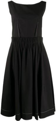 Marni Contrast Placket Dress