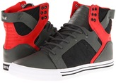 Supra Skytop (Grey/Red/Black) - Footwear