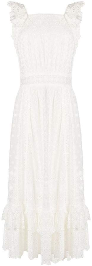 Ulla Johnson embroidered flared dress