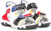 John Galliano double strap sandals