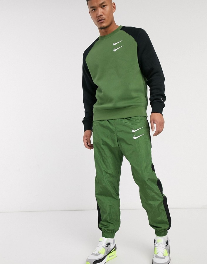 Nike Green Trousers For Men | Shop the