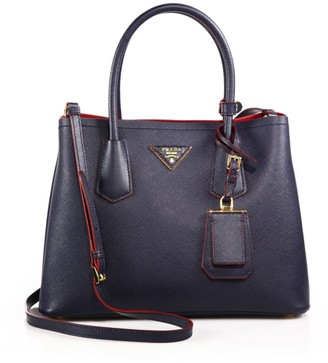 Prada Double Leather Tote
