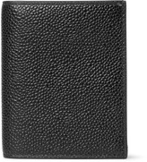 Thom Browne Pebble-Grain Leather Bifold Cardholder
