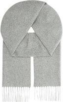 Johnstons Tassel-trim Cashmere Scarf