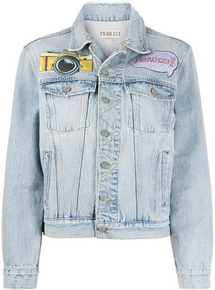 Fiorucci Patch-Embellished Denim Jacket