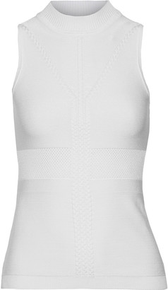 Cushnie Cable-knit Top