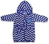 Neat Solutions Hooded Fleece Bathrobe in Blue Whale