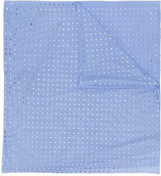 Fisico Polka Dot Print Slim Scarf