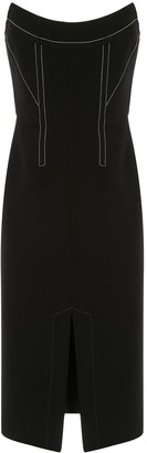 Dion Lee Convex bustier dress