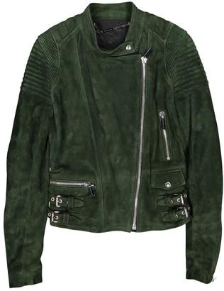 Barbara Bui Green Suede Jacket for Women