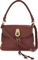Chloé Owen suede and leather small shoulder bag