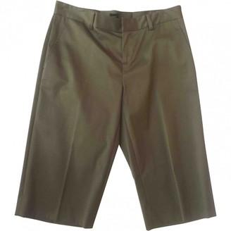 Ralph Lauren Khaki Cotton Shorts for Women